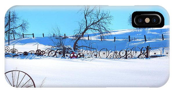 iPhone Case - Snowy Palouse by David Patterson