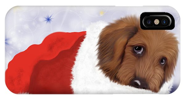 Snuggle Puppy IPhone Case