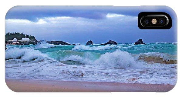 Carribbean iPhone Case - Soft Coastal Painting Bermuda by Betsy Knapp
