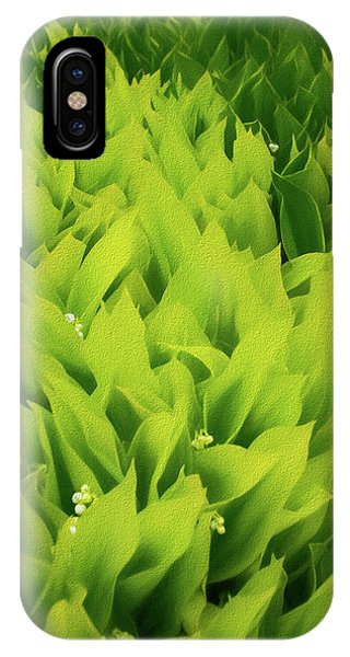 IPhone Case featuring the photograph Soft Green by Mike Braun