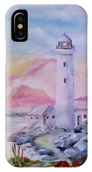 Soft Lighthouse IPhone Case