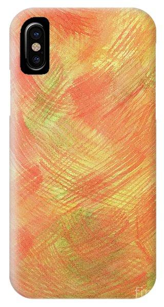 Soft Orange Colors 2 IPhone Case
