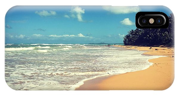 Solitude Beach IPhone Case