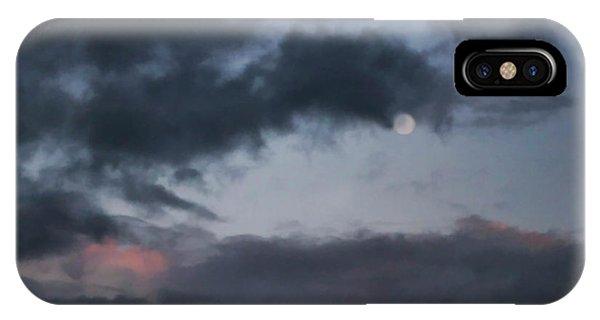 Somber Moon  IPhone Case