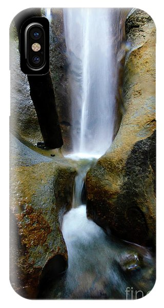 iPhone Case - Sombrio Falls Vancouver Island by Bob Christopher