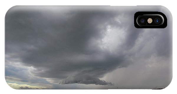 Nebraskasc iPhone Case - Some Afternoon Thunder 011 by NebraskaSC