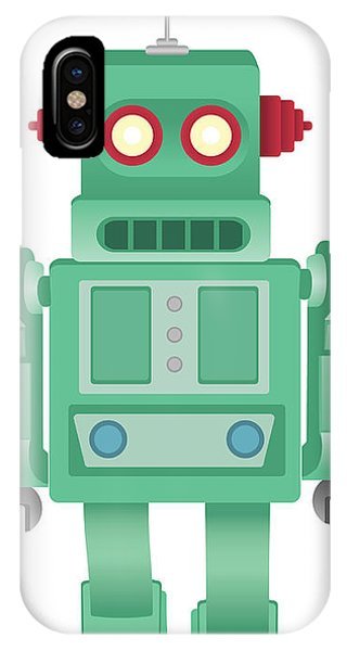 Panel iPhone Case - Some Kind Of Robot by Angiers