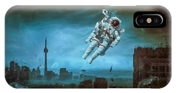 Work iPhone Case - Sometimes by Mario Sanchez Nevado