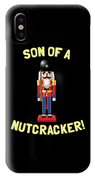 Son Of A Nutcracker IPhone Case