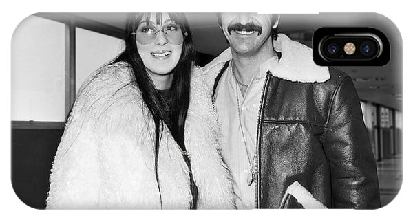 Sonny And Cher iPhone Case - Sonny And Cher        by Sellers