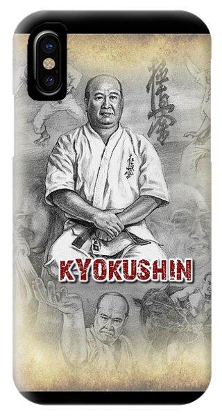 Oyama iPhone Case - Sosai Mas Oyama by Allan Youl