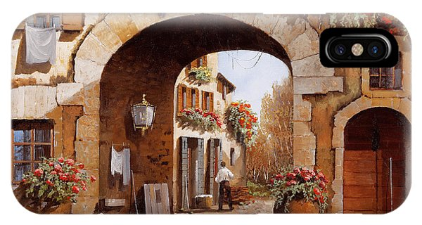 Arched iPhone Case - Sotto L'arco by Guido Borelli