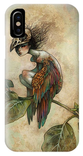 iPhone Case - Soul Of A Bird by Caroline Jamhour