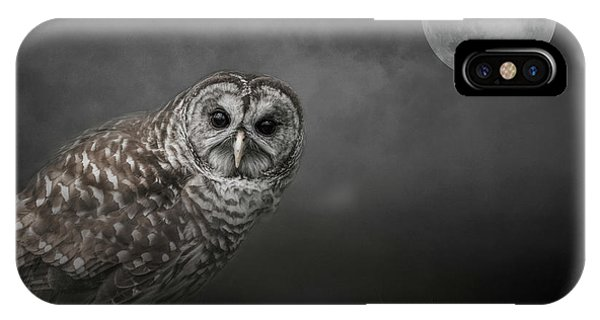 Soul Of The Moon IPhone Case