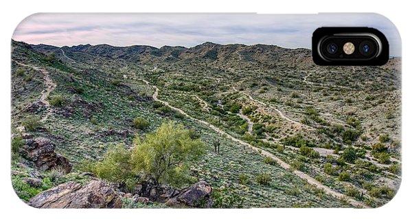 South Mountain Landscape IPhone Case