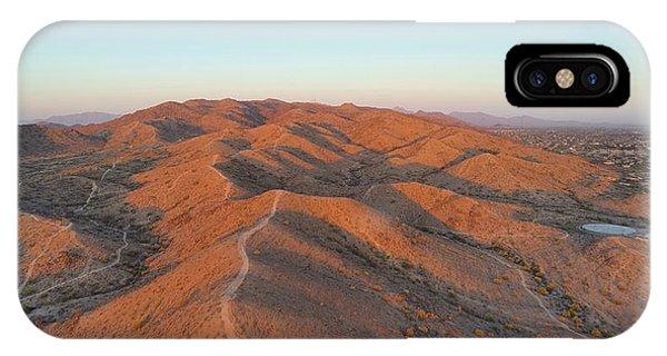 South Mountain Sunrise IPhone Case