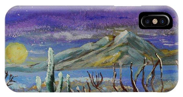 Southern Arizona Winter Magic  IPhone Case