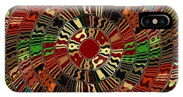 Southwestern Sun Swirl IPhone Case