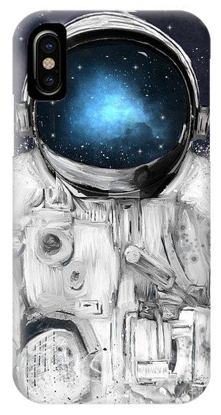 Solar System iPhone Case - Space Adventurer  by Bri Buckley