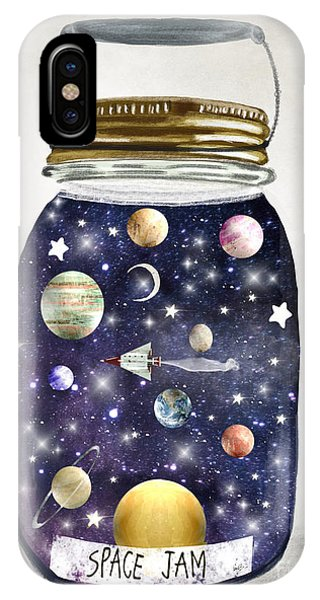 Solar System iPhone Case - Space Jam by Bri Buckley