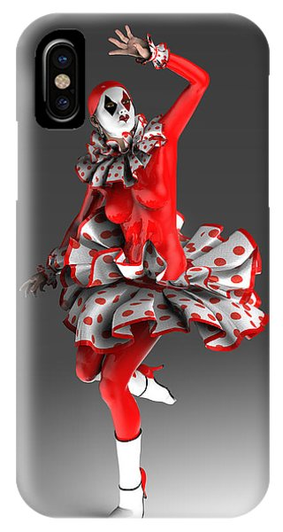 New Trend iPhone Case - Spanish Pierrette by Joaquin Abella
