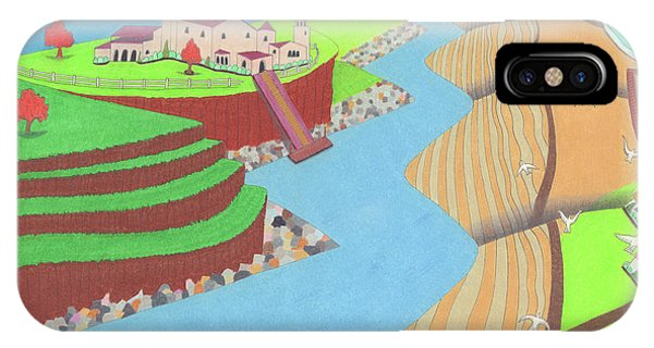 IPhone Case featuring the drawing Spanish Wells by John Wiegand