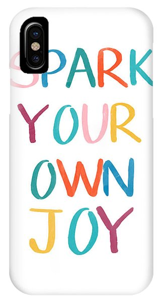 Interior iPhone Case - Spark Your Own Joy- Art By Linda Woods by Linda Woods