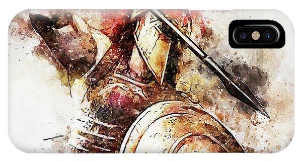 Spartan Hoplite - 54 IPhone Case