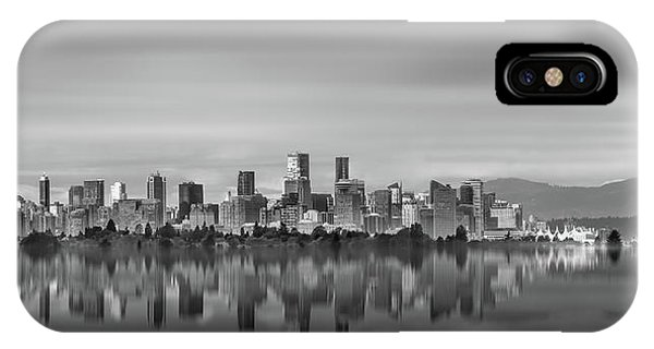 Special View Of Downtown Vancouver IPhone Case