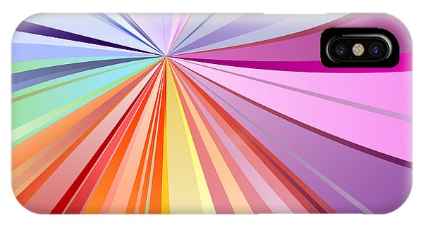 Illusion iPhone Case - Spectrum Background by Osov