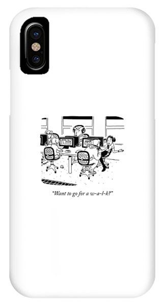 Spelled Out IPhone Case