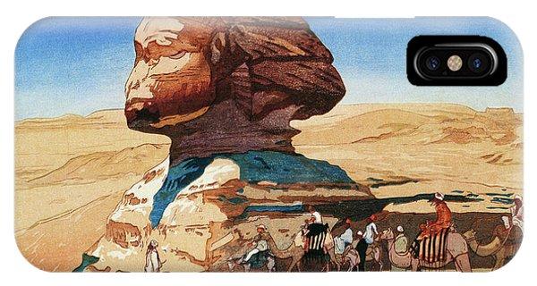 Barren iPhone Case - Sphinx - Digital Remastered Edition by Yoshida Hiroshi