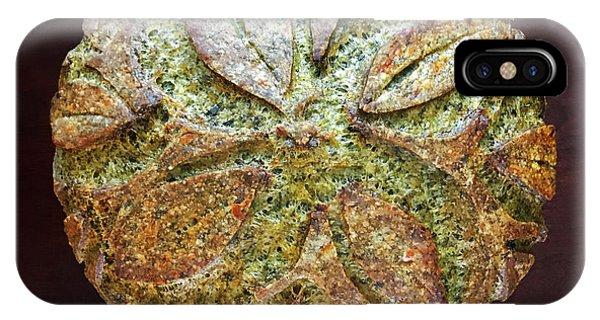 Spicy Spinach Sourdough IPhone Case