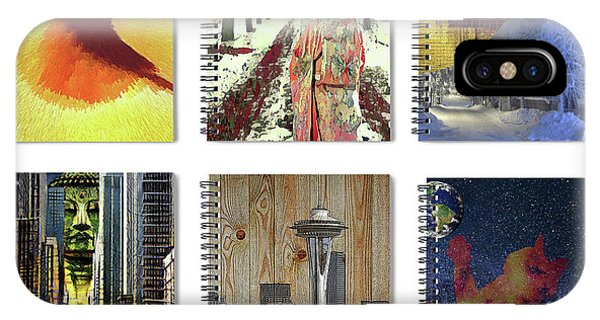 Spiral Notebooks Samples IPhone Case