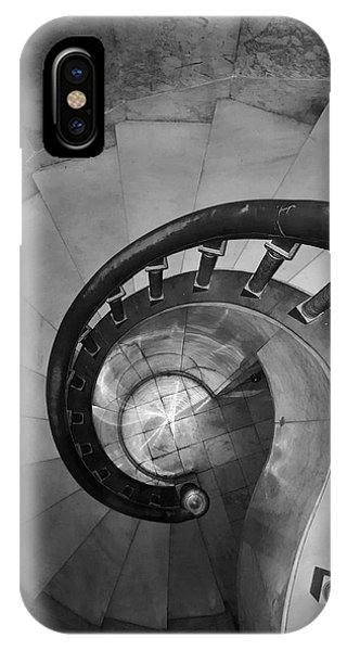 Spiral Staircase, Lakewood  Cemetary Chapel IPhone Case