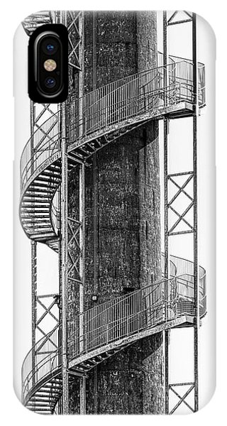 Staircase iPhone Case - Spiral Staircase by Tom Mc Nemar