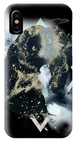 IPhone Case featuring the digital art Spirit Animal by Bee-Bee Deigner