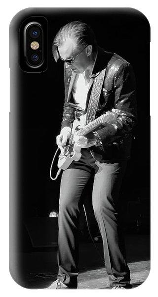 Guitar Legends iPhone Case - Spotlight Joe Bonamassa by Peter Chilelli
