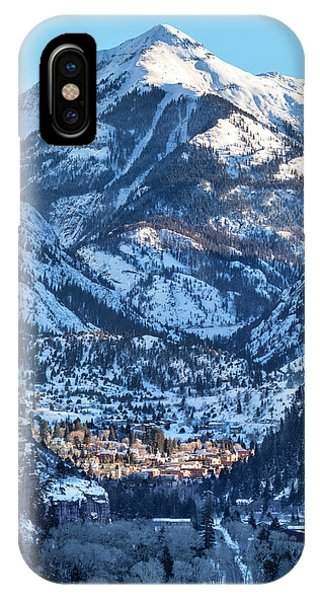 IPhone Case featuring the photograph Spotlight On Ouray by Denise Bush