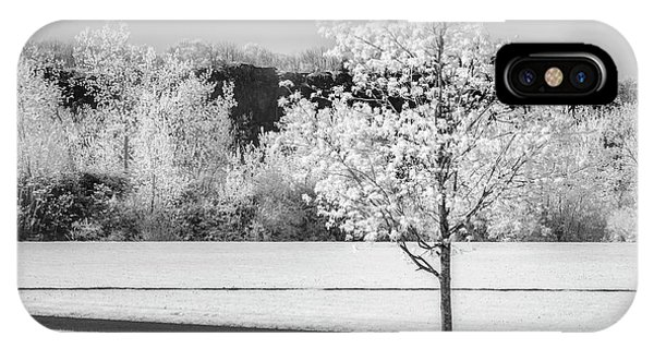 iPhone Case - Spring Blossom Bw by Susan Candelario