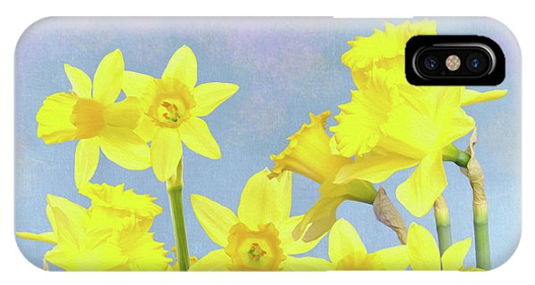 Yellow Trumpet iPhone Case - Spring Daffodil Beauty by Laura D Young