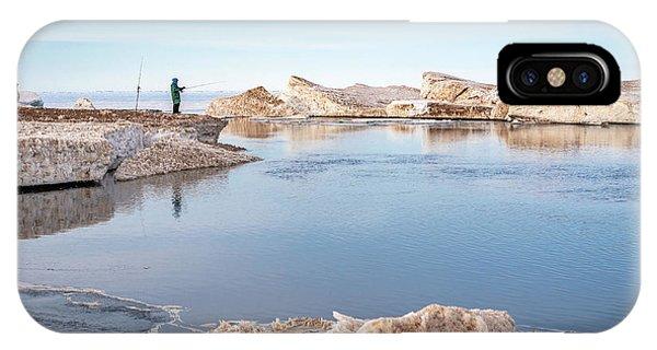 Spring Fishing IPhone Case