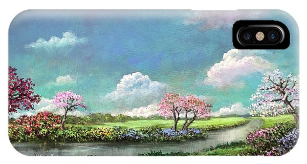 Spring In The Garden Of Eden IPhone Case