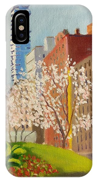 Spring In Worth St IPhone Case