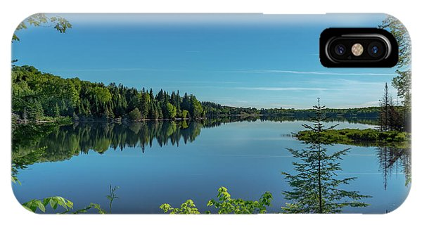 Spring Morning On Grand Sable Lake IPhone Case