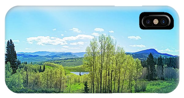 IPhone Case featuring the photograph Spring On The Western Slope Colorado by Mike Braun