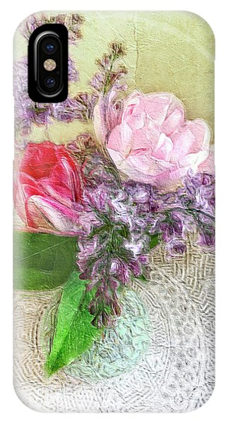 Spring Song Floral Still Life IPhone Case