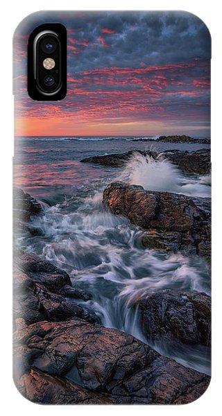 Spring Sunrise At Marginal Way IPhone Case