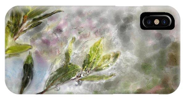 Grenn iPhone Case - Spring Time by Raffaella Simoncini