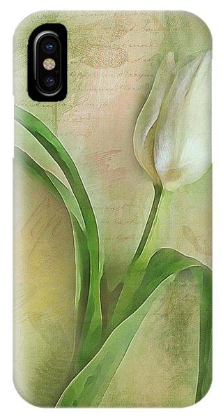 Spring Tulip Montage IPhone Case